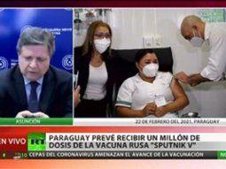 El ministro de Relaciones Exteriores de Paraguay, Euclides Acevedo, mantuvo este martes una conversación con su par ruso para acelerar la provisión de vacunas contra el coronavirus (Covid-19).