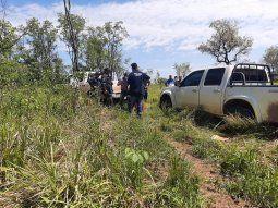 El hallazgo se produjo a las 9.10 aproximadamente de este miércoles, en  la zona boscosa, a tres kilómetros y medio del desvío Duarte Kue y  Estancia San Lorenzo, en la ciudad de Bella Vista Norte.
