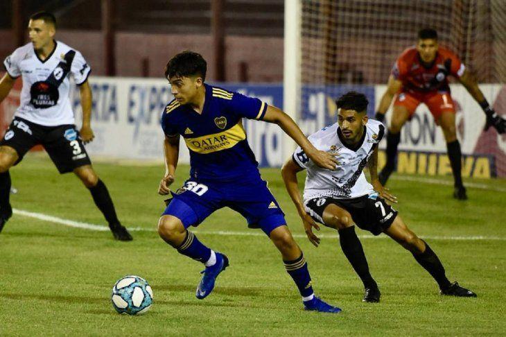 Boca comenzó con pie derecho la Copa Argentina.