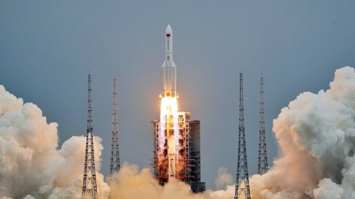 China puso en órbita el 29 de abril el primer módulo de su estación espacial