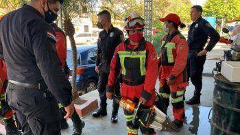 Desde la Unidad de Rescate y Extinción de Capiatá agradecieron a la Policía Nacional, a los trabajadores del volante, a la prensa y a todos los bomberos voluntarios quienes ayudaron en la difusión del hurto y la búsqueda.