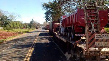 Diego Bogarin, dirigente de los camioneros, advirtió que van a endurecer las medidas si este jueves no se trata el proyecto de ley que regula el precio del flete.