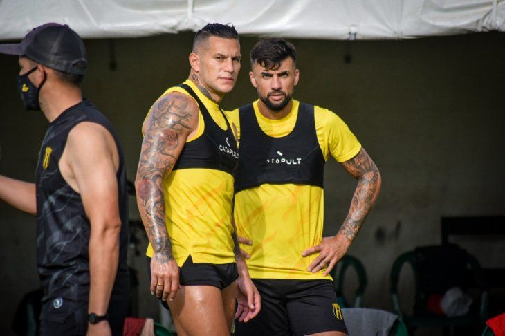 Raúl Bobadilla y Nicolás Maná