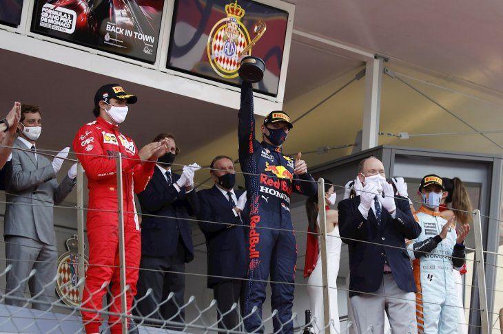 El holandes de Red Bull se coronó en Mónaco.
