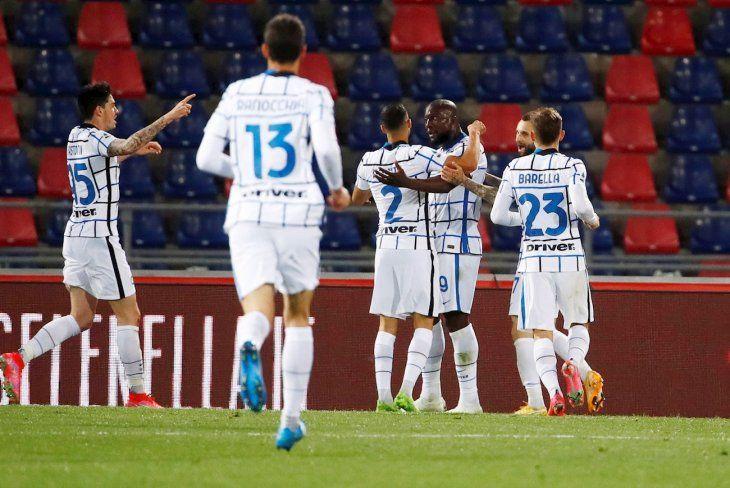 El Inter de Milán consiguió una gran victoria este sábado.