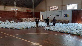 Varias personas fallecidas del distrito de Natalio figuran como beneficiarias de los kits de víveres y supuestamente firmaron la planilla de entrega de la ayuda, entre ellas la mamá del intendente Ramón Schneider.
