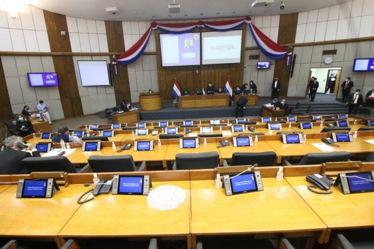 Sesión ordinaria mixta de la Cámara de Diputados de este miércoles.