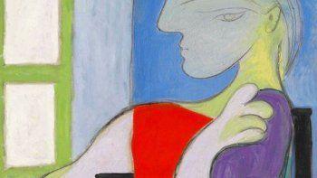 Un retrato de vibrantes colores y de grandes dimensiones pintado por Pablo Picasso de su musa y amante Marie-Thérèse Walter alcanzó este jueves los USD 103 millones en una subasta.