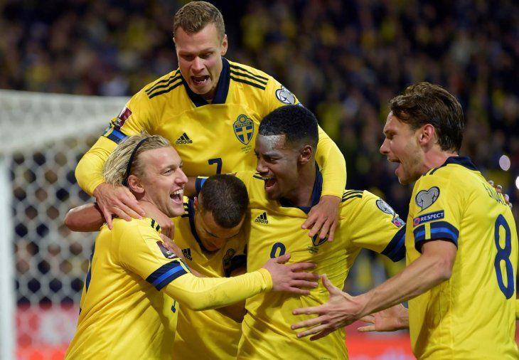 Suecia obtuvo el triunfo ante Grecia por 2-0 en las clasificatorias rumbo al Mundial de Qatar 2022.