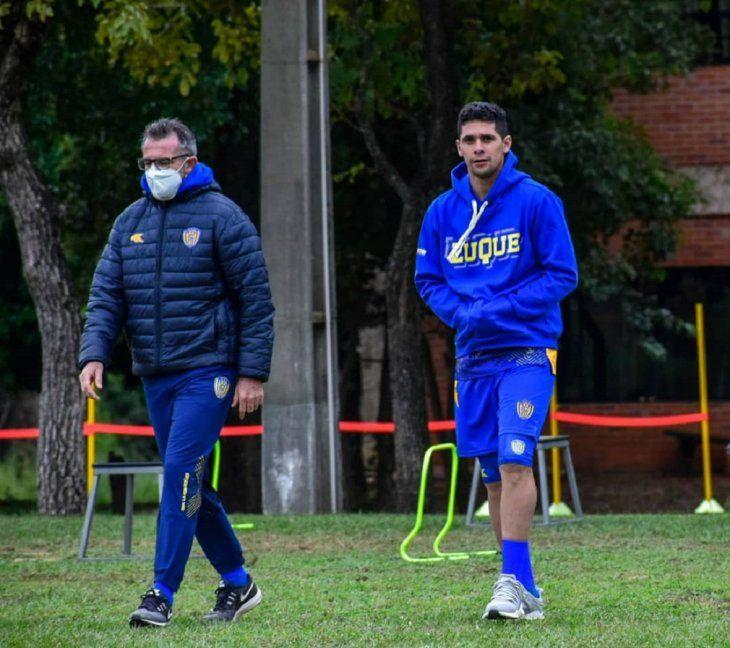 Blas Díaz retornó a Sportivo Luqueño tras su paso por una temporada en el club Macará de Ecuador.