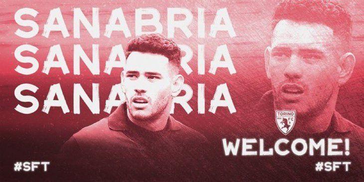 Antonio Sanabria es nuevo jugador del Torino.