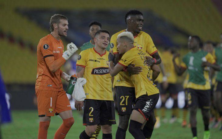 Barcelona de Guayaquil avanzó a cuartos de final de la Copa Libertadores.