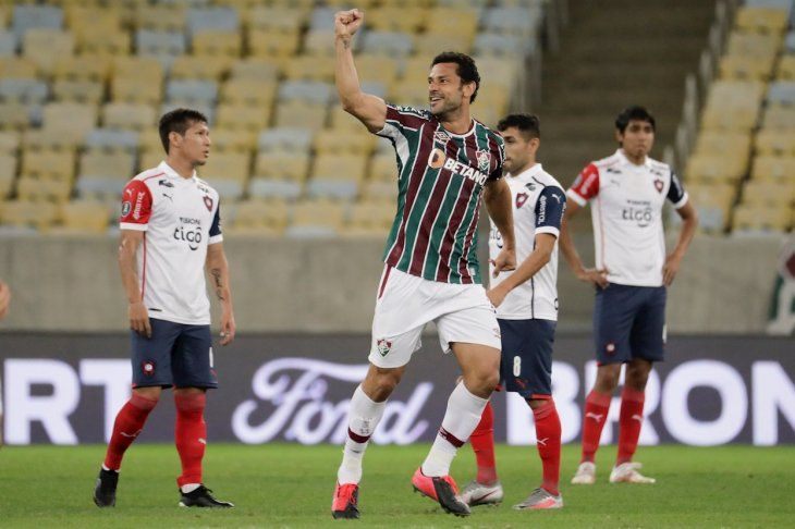 Cerro Porteño no pudo ante Fluminense y quedó fuera de la Copa Libertadores 2021.