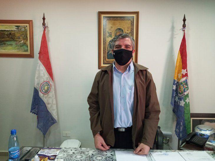 El nuevo intendente de Pedro Juan Caballero