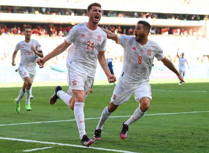 España goleó a la selección de Eslovaquia en el partido disputado este miércoles por Eurocopa.