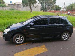 La Policía Nacional incautó el automóvil de la marca Toyota, modelo Runx, de color negro, con matrícula AABR 686, propiedad del precandidato a concejal, en el cual habrían sido rescatados los autores del hecho.