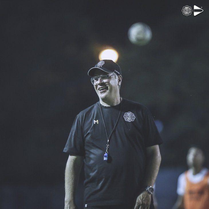 El entrenador de Olimpia