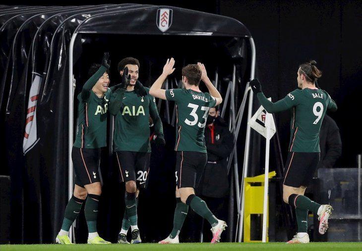 El Tottenham triunfó por la mínima este jueves.