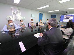La delegación de la OEA se reunió este jueves con el jefe de la Oficina Nacional de Procesos Electorales (ONPE), Piero Corvetto, tras realizar su primera visita a Perú.