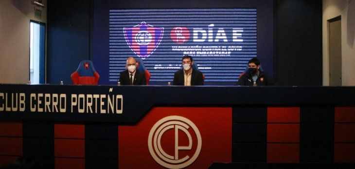 Desde el Club Cerro Porteño informaron que se unen a la campaña de vacunación contra el Covid-19 y que este sábado