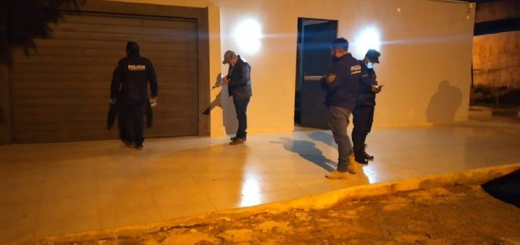 Afortunadamente no se registraron heridos en el ataque a la vivienda ubicada en Pedro Juan Caballero.