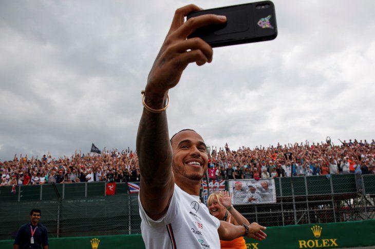 El piloto inglés Lewis Hamilton.