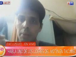 Alan Caballero afirmó que desean que Orlando Efrén Benítez Portillo sea  trasladado a Tacumbú, porque supuestamente  su vida corre riesgo en la Agrupación Especializada de la Policía  Nacional.
