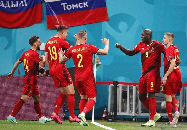 Bélgica goleó a Rusia.