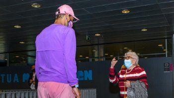El sueño de Manuela empezó a gestarse gracias a su nieto que por medio de las redes sociales hizo público los deseos de su abuela, una apasionada del tenis y, especialmente, de Rafael Nadal.