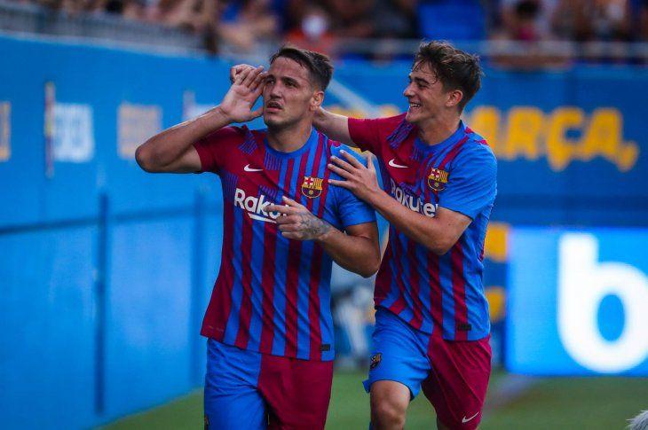 Barcelona venció al Gimnàstic en un partido amistoso.