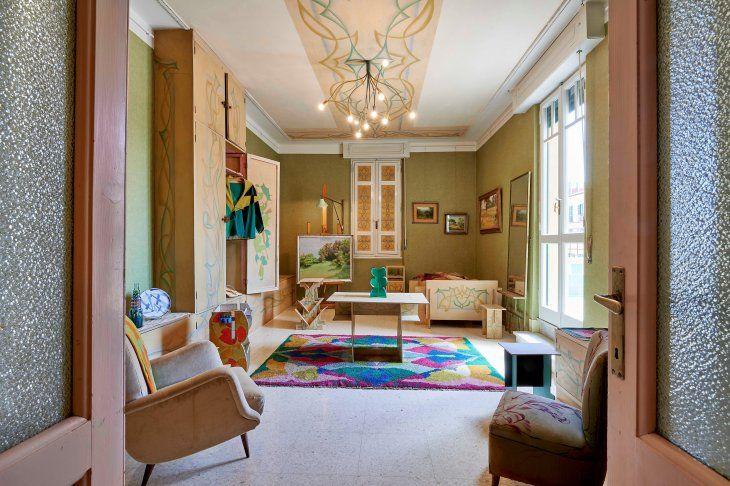 La casa en Roma del pintor Giacomo Balla