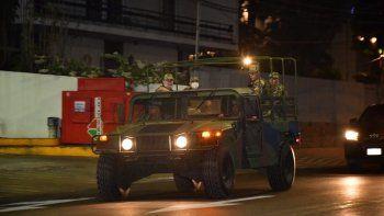 Ejército informa que desplazará vehículos blindados por Asunción