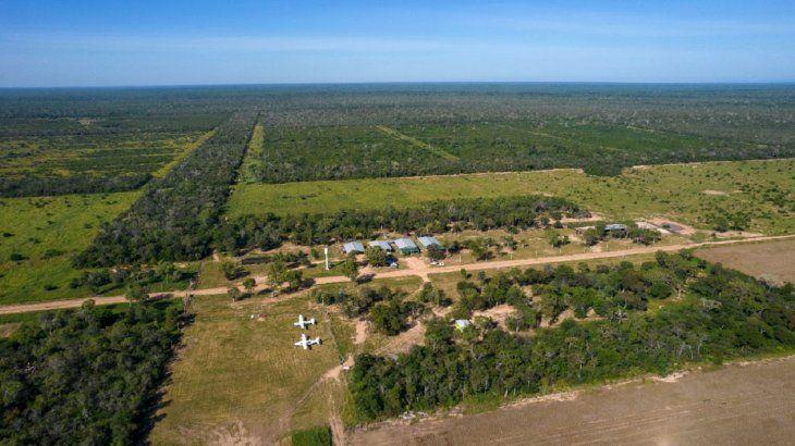 El área de influencia de Agua Dulce incluye los parques Defensores del Chaco y Cerro Chovoreca. Foto: Gianfranco Mancusi