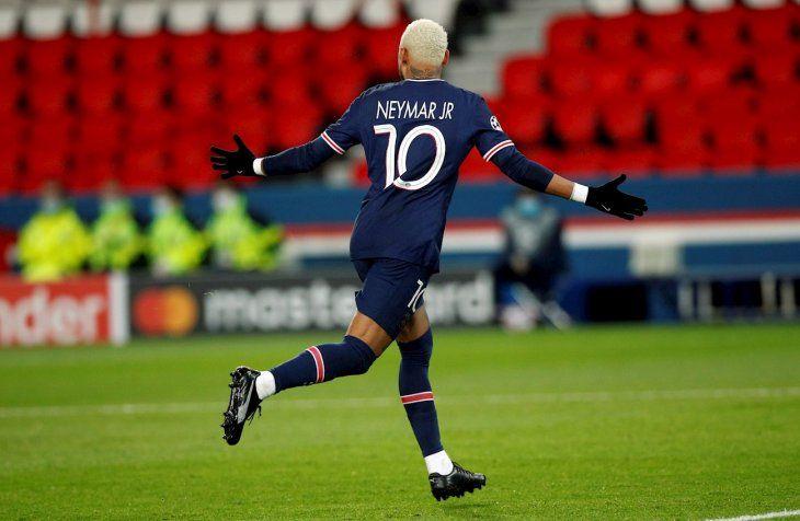 Neymar marcó el único gol del partido.