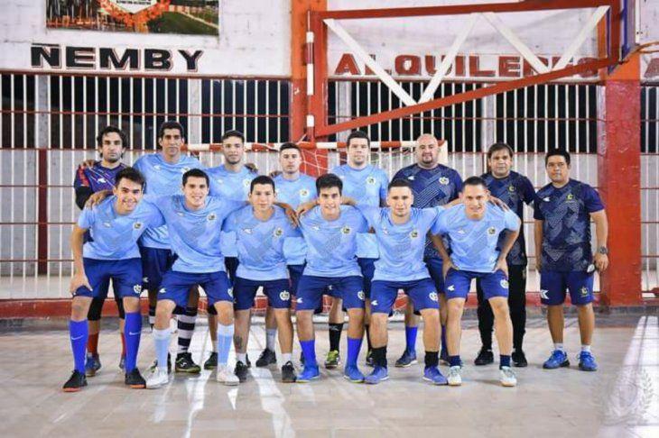Plantel de Fútbol de Salón del Club Simón Bolívar.
