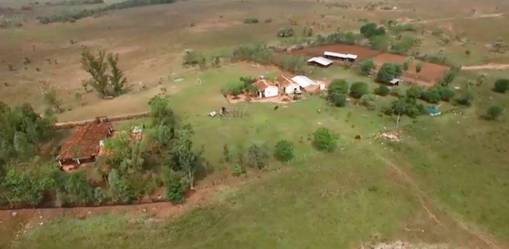 Estancia.  Vista de la propiedad que tiene Albino Ferrer en la zona de Nueva Italia. Tiene por lo menos  430 hectáreas