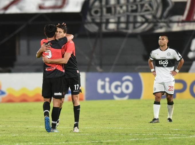 Triunfazo de River Plate ante Olimpia.