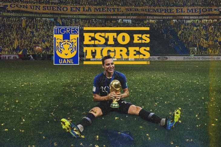 Florian Thauvin es sensación en México.