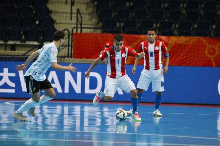 Paraguay cayó ante Argentina y se despidió del Mundial de futsal.