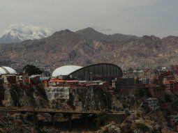Fotografía de la montaña conocida como La Muela del Diablo, en La Paz (Bolivia), que tiene similitud con los paisajes de la Tierra Media creada por J.R.R. Tolkien en su obra literaria.
