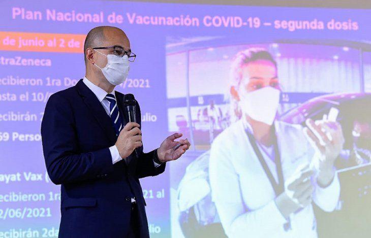 Preocupa a Salud las pocas personas que se acercaron para completar su segundad dosis de vacunación contra el Covid-19.