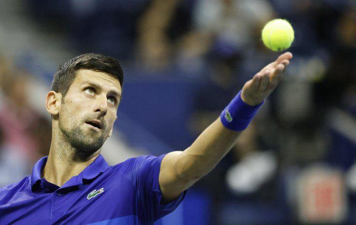 El serbio Novak Djokovic
