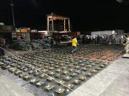El operativo y la incautación de la cocaína en Terport se realizaron este lunes en la ciudad de Villeta. Unos 11 contenedores fueron retenidos hasta este miércoles.