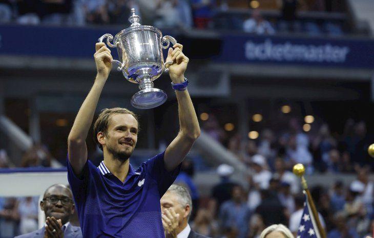 Daniil Medvedev ganó el US Open.