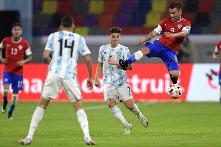 Julián Álvarez fue convocado en Argentina para la Copa América.