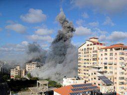 Gaza. En total fueron once días de escalada bélica entre el Ejército israelí y las milicias palestinas de Gaza, que se ha saldado con 232 muertos en la franja y 12 en Israel.