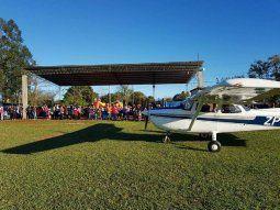 Según la denuncia, personas extrañas al Municipio que estarían ligadas  al narcotráfico y al autodenominado Ejército del Pueblo Paraguayo (EPP)  entraron y se apropiaron del aeródromo.