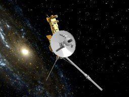 La Voyager 1, una de las dos naves que la NASA envió hace 44 años al espacio interestelar y que ya es el objeto fabricado por el ser humano que más lejos ha llegado.