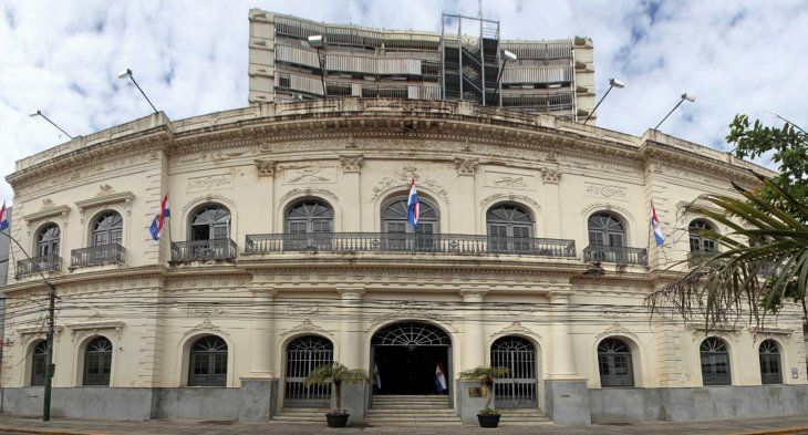 Sede. Edificio central del Ministerio de Relaciones Exteriores