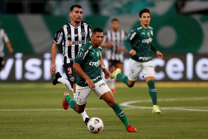 Palmeiras y Atlético Mineiro empataron 0-0.